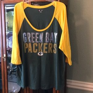Green Bay Packer NFL shirt